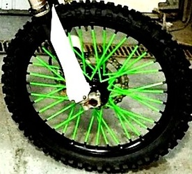 Spoke Wraps Bling Your Bike 0451 212 531